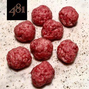 almondegas de carne